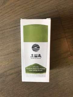 Korean green tea powder