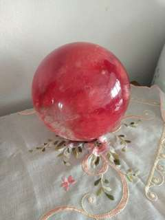Red auspicious ball