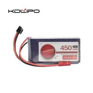 🚚 KD Lipo 450mAh 11.1V 3s 25C - In Stock!