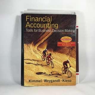 🚚 財務會計原文書 Financial Accounting 3rd Edition二手書