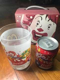McDonald's 可口可樂及可樂杯組合 fixed price