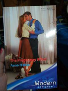Mills and Boon The Pregnancy Affair