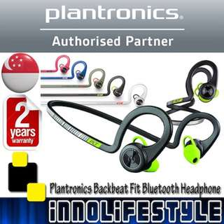 ★GSS Sales★ Plantronics Backbeat Fit Bluetooth Sports Headphone ★2 Years Local Warranty★