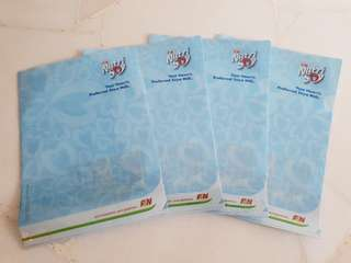 (BN) Plastic L shape folder a4