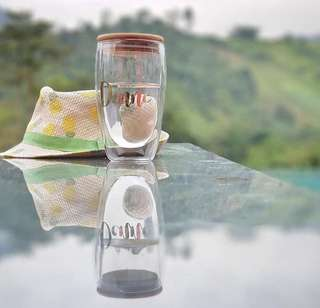 Personalized Glass Tumbler