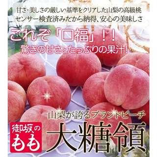 日本直送期間限定~大糖領水蜜桃