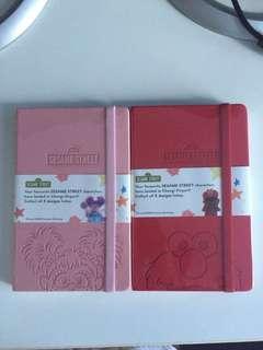 Sesame Street Note Books