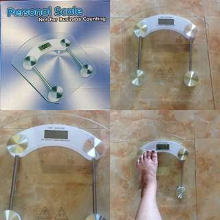 PRELOVED.. Digital Bathroom Weighing Scale
