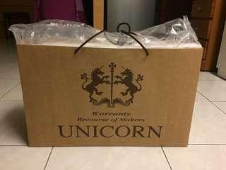 全新 Unicorn 龍馬 乳膠枕頭 便宜賣 枕頭 高雄可面交