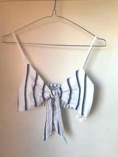 Zara tie crop