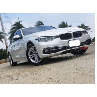 BMW 三系列 320I SPORT+ 2.0cc//全額貸 低利率 低月付 歡迎預約賞車👏