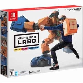 BNIB Labo Robot Kit 02 Nintendo Switch