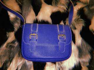 Mumi Blue sling bag