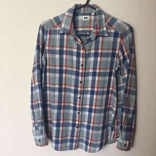 Uniqlo Plaid Shirt