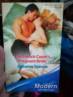 Mills and Boon The French Count's Pregnant Bride