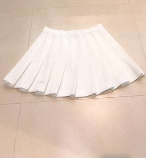 White Tennis Skirt (dm for when worn)