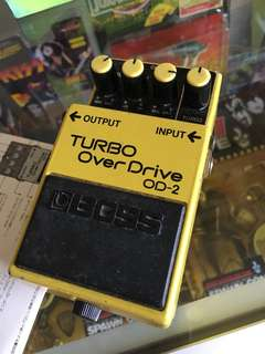 Vintage 1988 boss turbo overdrive MIJ