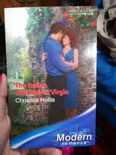 Mills and Boon The Italian Billionaire's Virgin
