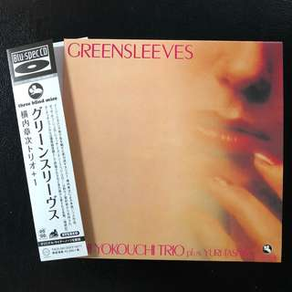 Shoji Yokouchi Trio Greensleeves [Three Blind Mice] TBM Made in Japan BLUE SPEC CD