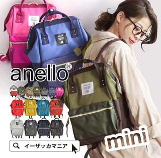 [Re-Stock] Japan Anello Polyester Canvas Backpack~ Original 100% Authentic ☆Small (Mini) AT-B0197B