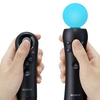 Playstation move WAND AND NAVIGATION controllers + EYE