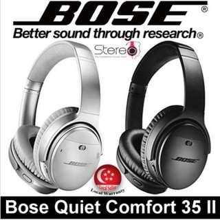 Bose Quiet Comfort 35 II Earphone / Headphone / Local Set with Local Warranty