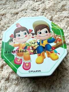 不二家牛奶妹牛奶仔collection日本版大鐵盒