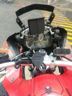 MWUPP Handphone Mount installed on BMW GSA