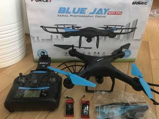 Drone Blue Jay -Aerial Photo drone-