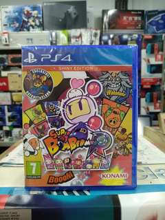 🆕 PS4 Super Bomberman R ( Shiny Edition )
