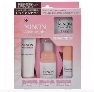 Minon Amino Moist Travel Set