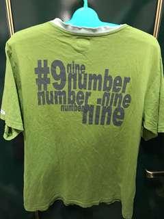 🚚 NUMBER (N)INE No.9  logo T,Tee tshirt 尺寸為3 木村著用 pic