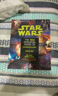 Star Wars Essential Guide To Chronology, Droids & Alien Species