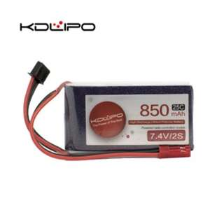 🚚 KD Lipo 850mAh 7.4V 2s 25C - In Stock!