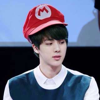 BTS Jin Inspired Super Mario Hat / Cap