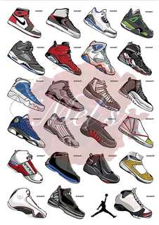 Nike Air Jordan Luggage Sticker