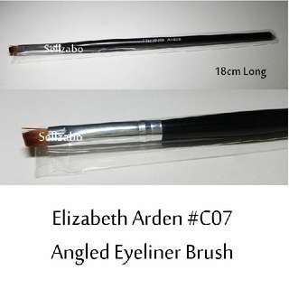 #C7 : Brush : Elizabeth Arden : Brushes : Angled : Liners : Eyes Shadows : Eyeshadows : Eyesshadows : Powder : Black Colour : Applicators : Highlights : Face : Facial : Makeup : Cosmetics : Beauty : Tools : Sellzabo