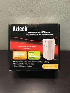 Aztech Homeplug AV2 600Mbps