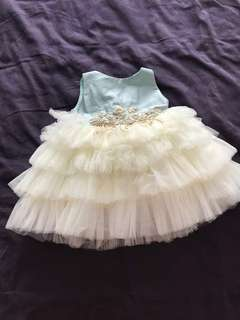 Baby girl couture party tutu dress