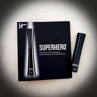 BRAND NEW It Cosmetics Superhero Volumizing Mascara Travel Size