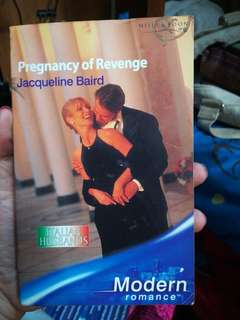 Mills and Boon Pregnancy of Revenge