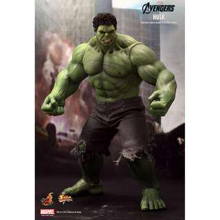 Hot Toys - HULK - MMS186 - AVENGERS - 1/6 Scale Figure