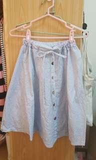 🚚 條紋裙子