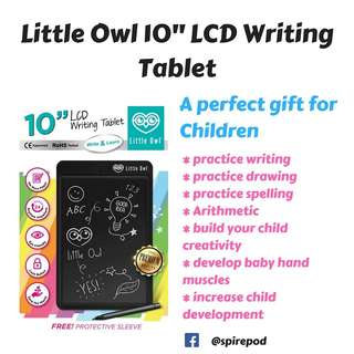 """Little Owl 10"""" LCD Writing Tablet"""