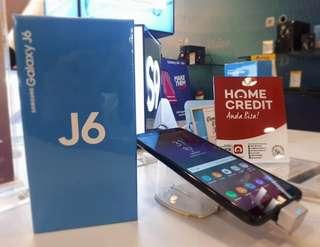Samsung Galaxy J6. Bisa cicilan tampa kartu kredit