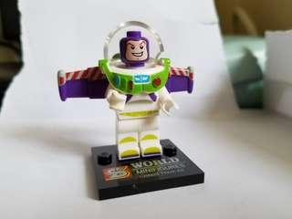 全新 Toy Story Buzz Lightyear mini figure 巴斯光年 積木人仔