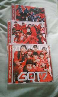 GOT7 Around The World Japan Album