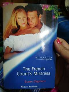 Mills and Boon The French Count's Mistress