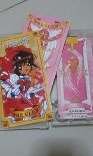 Sakura Clow Cards