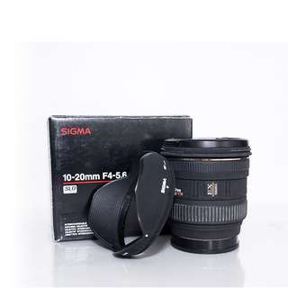 SIGMA 10-20mm F4-5.6 for Sony A-mount